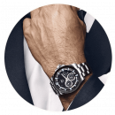 wholesale Watches: Montre De Luxe a luxurious watch with mineral glas