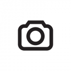 RS Men's Beanie black, fleece inside, with lea