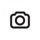 Damen Basic T-Shirt Melange, cobalt-offwhite , 90%