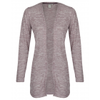 Ladies cardigan melange, lavender