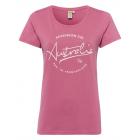 Ladies Roadsign T-Shirt round Roadsign , mauve, si