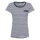 T-Shirt donna T-Shirt righe, blu scuro / bianca, t