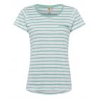 Maglietta da donna a righe, menta / bianca, taglia