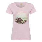 T-Shirt stampata T-Shirt Beach, rose