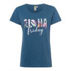 Camiseta estampada T-Shirt Aloha, azul