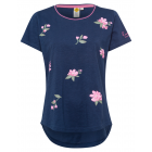 Flower T-Shirt, navy