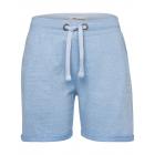 Damen Sweat Shorts, hellblau melange, Größe M