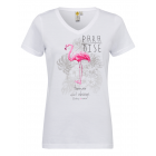 Ladies T-Shirt Paradise, white