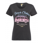 T-Shirt de mujer Beach Cruiser, anthra