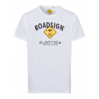 T-Shirt Roadsign , blanc, taille XL