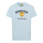 Men's T-Shirt Roadsign , light blue, size M.