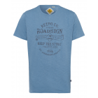 T-Shirt Keep the Spirit, jeans, girocollo