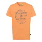 Men's T-Shirt Keep the Spirit, orange, round n