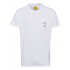 T-Shirt de hombre Roadsign Pocket, blanco, talla L
