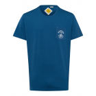 T-Shirt Roadsign Pocket, bleu, taille 3XL