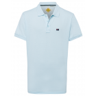 Men's polo shirt, light blue