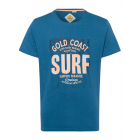 Uomo T-Shirt Gold Coast, blu, girocollo