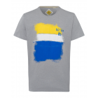T-Shirt City Sky, grigio, girocollo