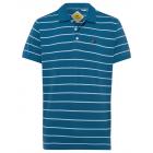 Camisa polo hombre rayas azul claro / azul.