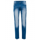Pantaloni denim da uomo, denim blu,