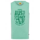 Herren Tank Top Sydney, grün, Rundhals