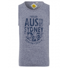 Men's Tank Top Sydney, navy, round neck