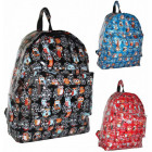 CB162 Owls Snow Laced Backpack MIX colors