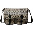 CB159 couleurs aztèques laqués femmes sac à main