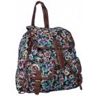 FB45 Vintage Women's School Backpack A4 Urban
