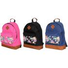 Plecak damski kwiaty na kieszonce BP241 plecaki