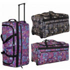 Suitcase - TB03 Flowers travel bag