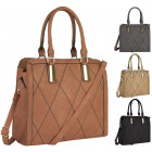 Handbag for women's trunk + fastening belt A4