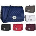 Beautiful quilted handbag CHANELKA FB182