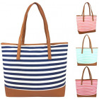 004 Stripe Women's Handbag Ladies Handbags