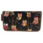 Portefeuille PS81 Oil Owls Glitter Elegant pour Fe