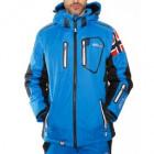 Men's ski clothing WARRIOR JACKET MEN BLUE 055