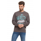 VARSITY - Athletic Supplies Férfi pulóver - Faszén