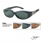 2004 Polar Polarized Fit Over - Sonnenbrille