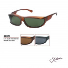 2009 Polar Polarized Fit Over - Sonnenbrille