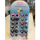 Karton Kinder Sonnenbrille in Display (12 Paare mi