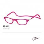 RD-127 TRANS FUCHIA +3.00 - Reading Glasses
