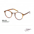 RD-172 LIGHT BROWN DEMI +2,00 - Lesebrille