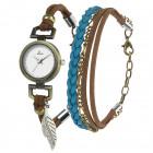 Set regalo hippie chic con orologio e bracciale B-