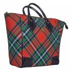 Vivienne Westwood Handbag 5972VTTS Tartan Brogu