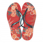 Dupe Brazil Toe Separator Floral Chic 37 red