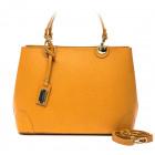 Trussardi Handbag D66TRC1012 Maretto Cognac