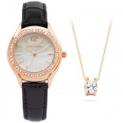Pierre Cardin Watch PCX6556L290 Gift Set Jewelry