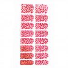 16x Self-Adhesive Nail Foil Metallic Effect