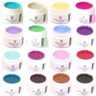 16 x 5ml Profi Color Gel Nail Gel Gels