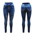 Jeaggings leggings pantalons jeans avec optique fi